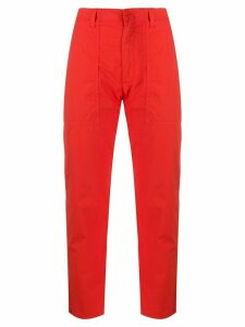 Dondup Dylan straight trousers - Red