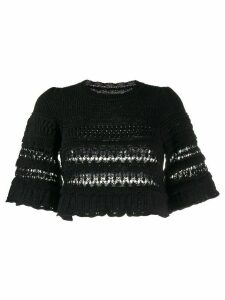 Isabel Marant Friza cropped jumper - Black