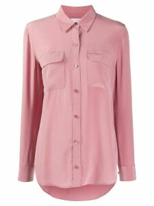 Equipment patch pocket shirt - PINK