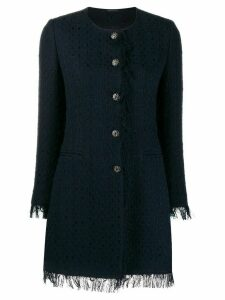 Tagliatore Doris tweed coat - Blue