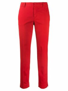 Pt01 straight leg trousers - Red