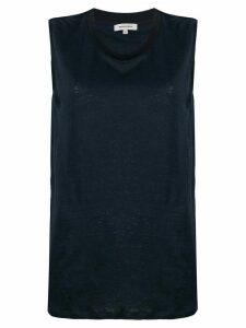 Woolrich round neck tank top - Blue