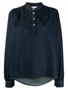 GANNI denim blouse - Blue