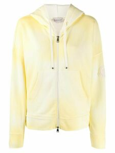 Moncler zip-up hoodie - Yellow