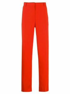 MSGM straight tailored trousers - ORANGE