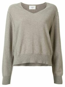 Bassike slouchy cashmere jumper - Grey
