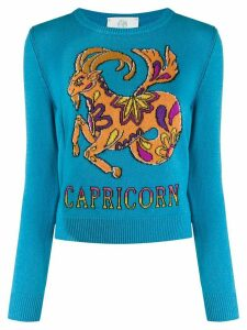 Alberta Ferretti Love Me Starlight Capricorn jumper - Blue