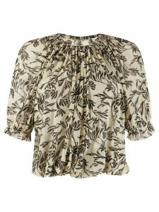 Stefano Mortari patterned blouse - NEUTRALS