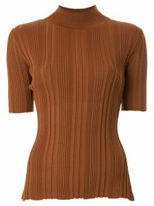 BEC + BRIDGE Toulouse ribbed knit jumper - Brown