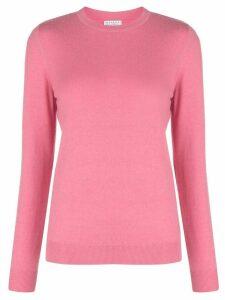 Brunello Cucinelli boxy fit cashmere jumper - PINK