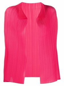 Issey Miyake open front cardigan - PINK