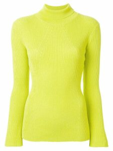 Manning Cartell ribbed turtleneck jumper - Yellow