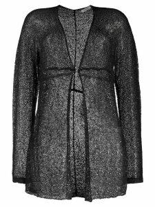 P.A.R.O.S.H. lightweight knit cardigan - Black