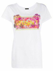 Versace 90s vintage logo print T-shirt - White
