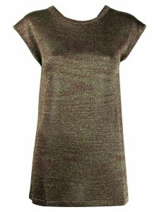 Missoni cap-sleeved top - Green