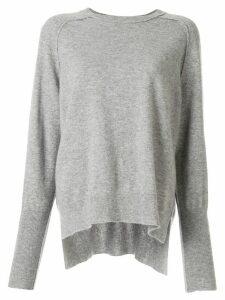 Bassike cashmere long sleeve jumper - Grey