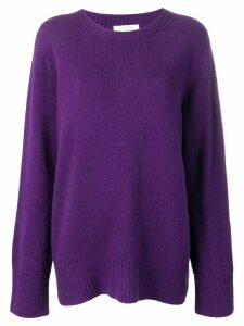 The Row loose-fit jumper - PURPLE