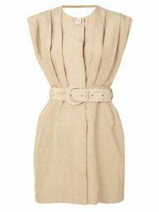 Sir. Leon tailored mini dress - Brown