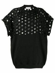 Maison Margiela Punched hole T-shirt - Black
