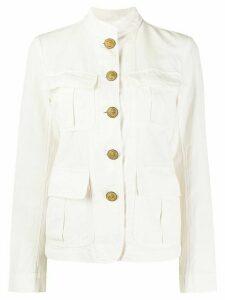 Nili Lotan lightweight military jacket - White