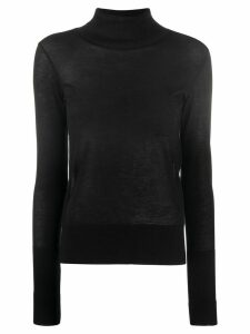 Totême fine knit jumper - Black