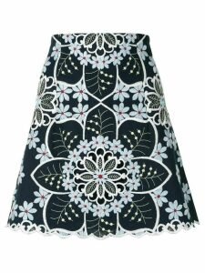 Alice McCall Afternoon embroidered skirt - Blue