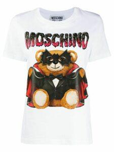 Moschino Bat Teddy Bear T-shirt - White