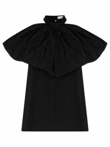 Givenchy bow halterneck taffeta top - Black