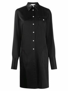 Peter Do long line shirt - Black