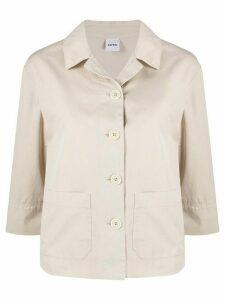 Aspesi Straight Cut shirt jacket - NEUTRALS
