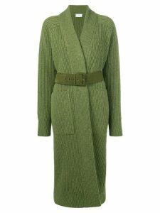 Ami Paris Long Gilet Rib Sweater - Green