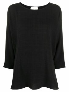 Stephan Schneider oversized boat neck blouse - Black
