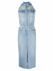 Versace Jeans Couture fitted denim dress - Blue