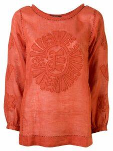 Vita Kin Camelia blouse - Red