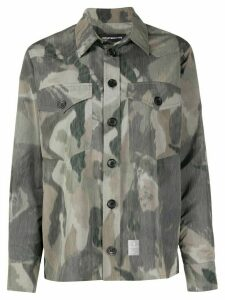 Department 5 camouflage print shirt - Green