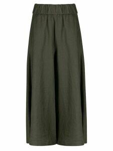 Aspesi Longuette wide-leg trousers - Green