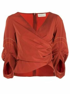 Sachin & Babi Savannah wrapped blouse - ORANGE