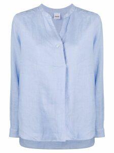 Aspesi buttoned tunic shirt - Blue