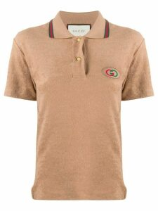 Gucci GG short-sleeve polo shirt - NEUTRALS