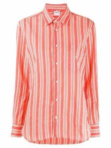 Aspesi striped long sleeve shirt - PINK