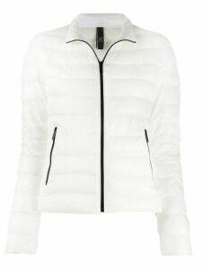 Hogan zipped padded jacket - White