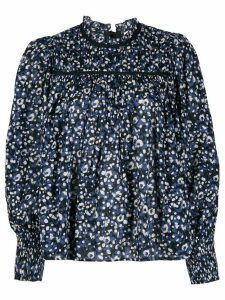 Ulla Johnson Amina floral print blouse - Blue