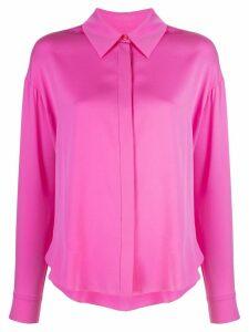 DVF Diane von Furstenberg drop shoudler blouse - PINK