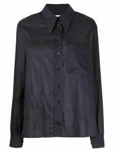 Lemaire long sleeve shirt - Black
