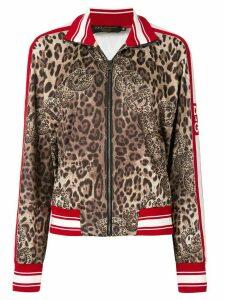 Dolce & Gabbana leopard print sweatshirt - Brown
