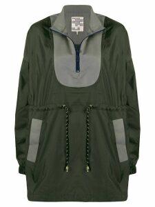 Baum Und Pferdgarten zipped drawstring-waist jacket - Green