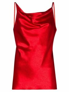 Sies Marjan Amira cowl neck camisole top - Red