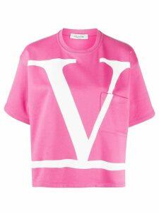Valentino Oversized VLOGO T-shirt - PINK