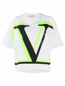 Valentino Oversized VLOGO T-shirt - White
