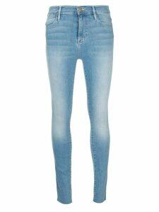 FRAME high waisted skinny jeans - Blue